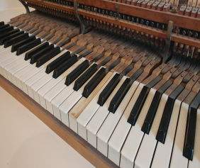 Piano  keys repair